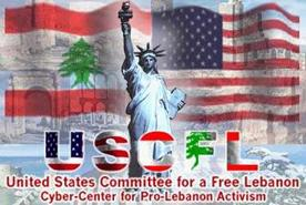 United States for a Free Lebanon Home Page Logo